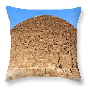 Pyramid Giza. Throw Pillow by Jane Rix