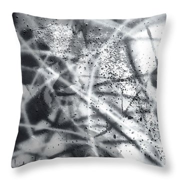 Quantum Light Throw Pillow by Chriss Pagani