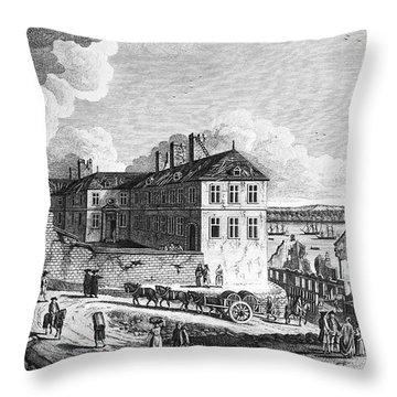 Quebec: Ruins, 1761 Throw Pillow by Granger