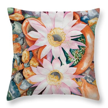 Queen Of The Night II Throw Pillow