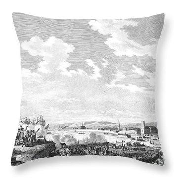 Quiberon Expedition, 1795 Throw Pillow by Granger