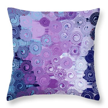 Quilt Seeds No3 Throw Pillow by Bonnie Bruno