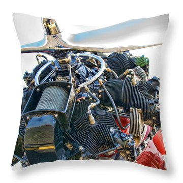 Radial  Throw Pillow