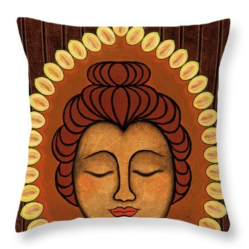 Radiant Peace Throw Pillow