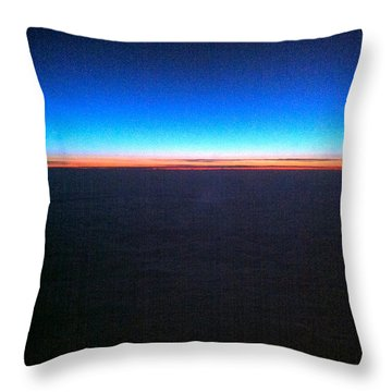 Rainbow Atlantic Throw Pillow
