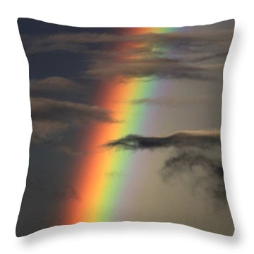 Rainbow Islands Throw Pillow