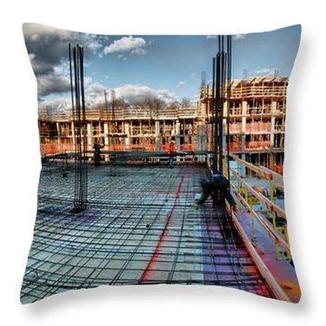 Raising Bedford Throw Pillow