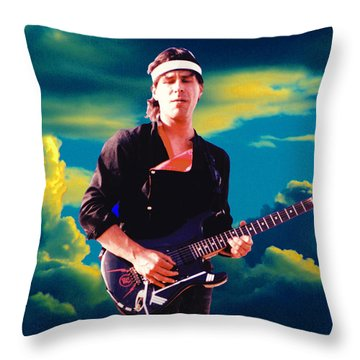 Randy In The Clouds 2 Throw Pillow by Ben Upham