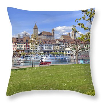 Rapperswil Throw Pillow by Joana Kruse