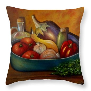 Ratatouile. Sold Throw Pillow