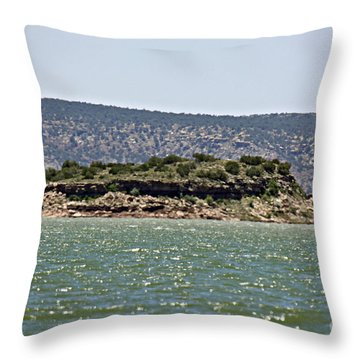 Rattlesnake Island Throw Pillow