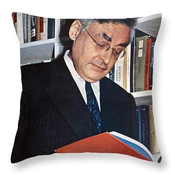 Raymond Queneau (1903-1976) Throw Pillow by Granger