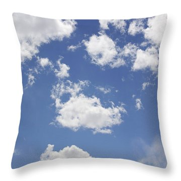 Reach For The Sky Throw Pillow by Mike McGlothlen