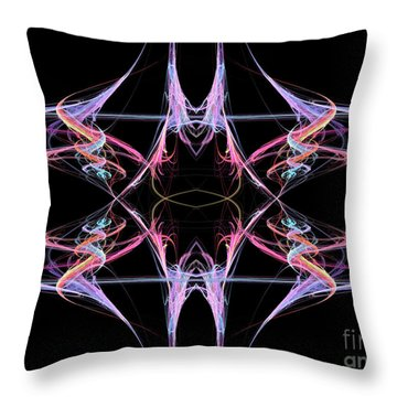 Reaction Throw Pillow