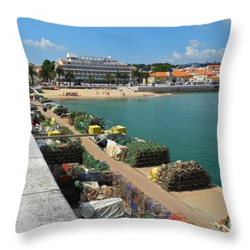 Ready For Fishing Tomorrow Throw Pillow by Kirsten Giving