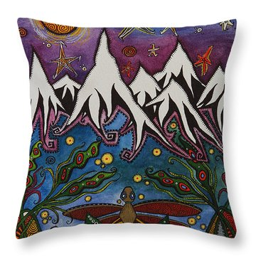 Realistic Imagination Throw Pillow by Tanielle Childers