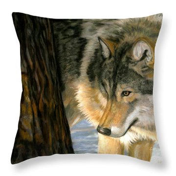 Reclaiming The Wild Throw Pillow by Sheri Gordon