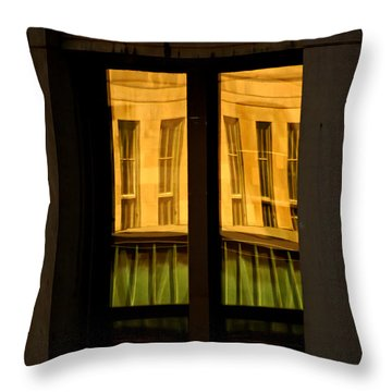 Rectangular Reflection Throw Pillow by Aimelle