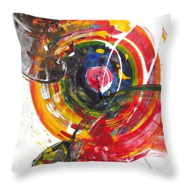 Red And Blue's Gold  837.120811 Throw Pillow