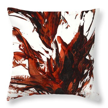 Red Flame IIi 64.121410 Throw Pillow