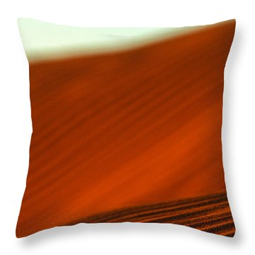 Red Ridge Throw Pillow