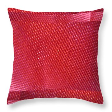 Red Riding Hood 2 Throw Pillow by Tim Allen