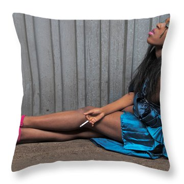 Throw Pillow featuring the photograph Red Stilettos by Alice Gipson