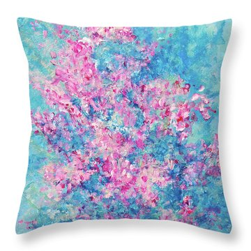 Redbud Special Throw Pillow