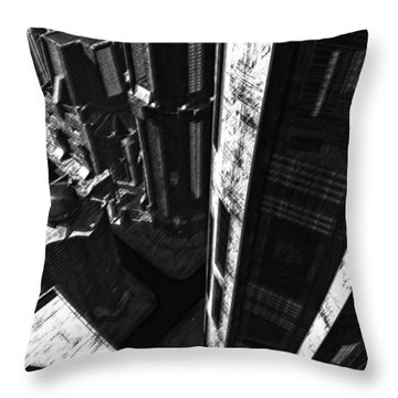 Redemption Throw Pillow by Richard Rizzo