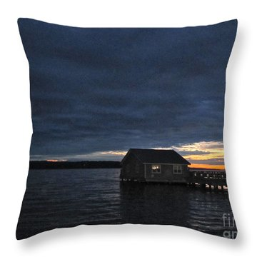 Throw Pillow featuring the photograph Redondo Pier by Sean Griffin