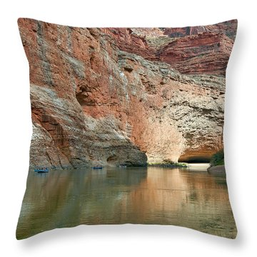 Redwall Approach  Throw Pillow