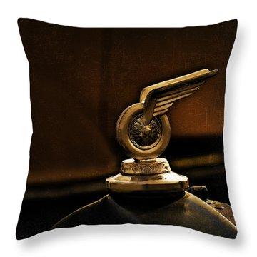 Redwing Mascot Throw Pillow