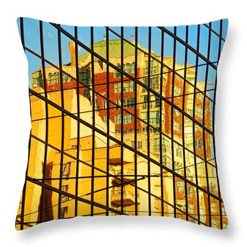 Reflections 1 Throw Pillow by Mauro Celotti