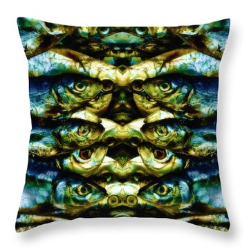 Reflections 2 Throw Pillow by Skip Nall