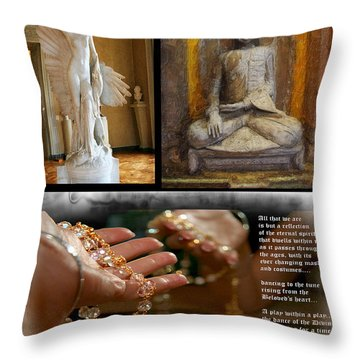 Reflections Of Spirit Throw Pillow