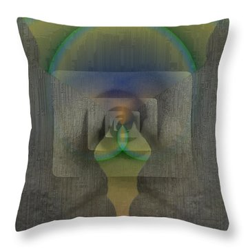 Reflections Of The Soul Throw Pillow by Tim Allen