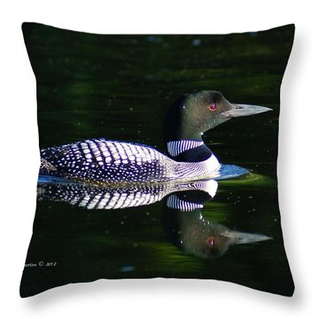 Reflections Throw Pillow by Steven Clipperton