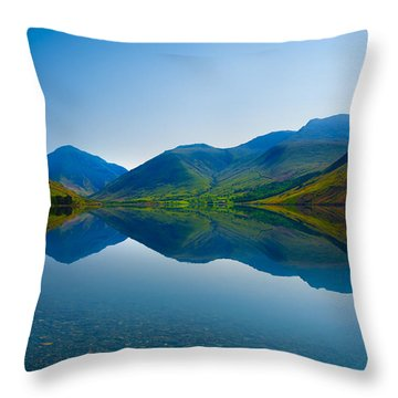 Reflections Throw Pillow by Svetlana Sewell