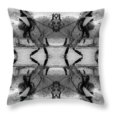 Reflective Thinking Throw Pillow