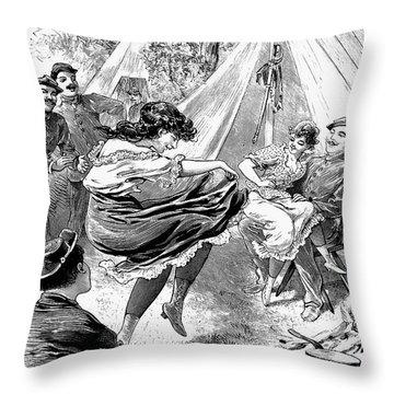 Reform School Girls, 1895 Throw Pillow by Granger