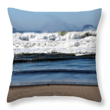 Throw Pillow featuring the photograph Refreshing by Jo Sheehan