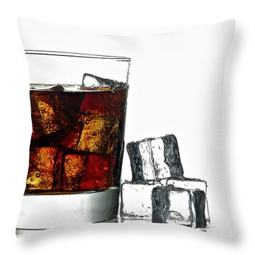 Refreshment Throw Pillow by Gert Lavsen
