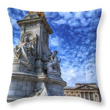 Regina Imperatrix 2.0 Throw Pillow
