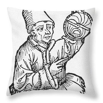 Regiomontanus, German Mathematician Throw Pillow