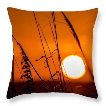 Relaxed Throw Pillow by Shannon Harrington