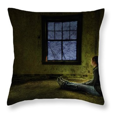 Release Me Throw Pillow by Evelina Kremsdorf