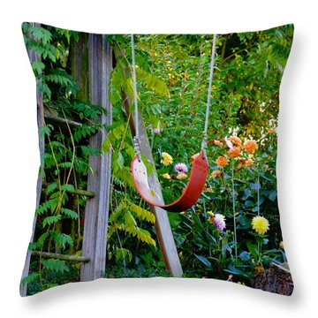 Throw Pillow featuring the photograph Remember... by Rory Sagner