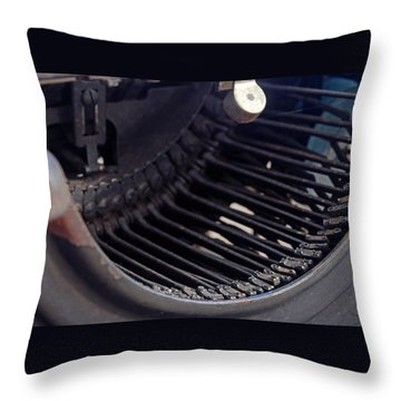Throw Pillow featuring the photograph Remington 11 Detail by Kay Lovingood