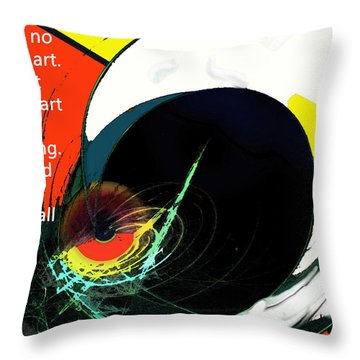 Removing Reality Throw Pillow by Ian  MacDonald