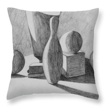 Rendering 2 Throw Pillow